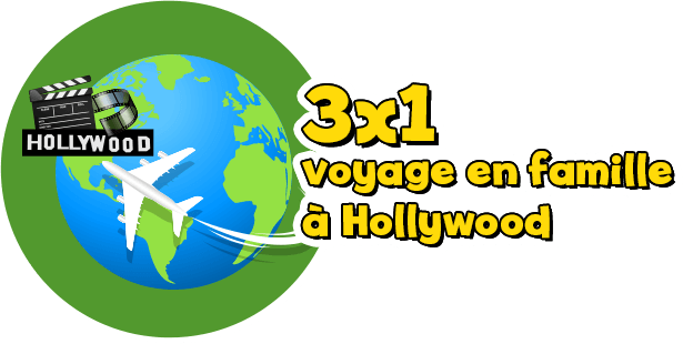 3 x Hollywood-Reise